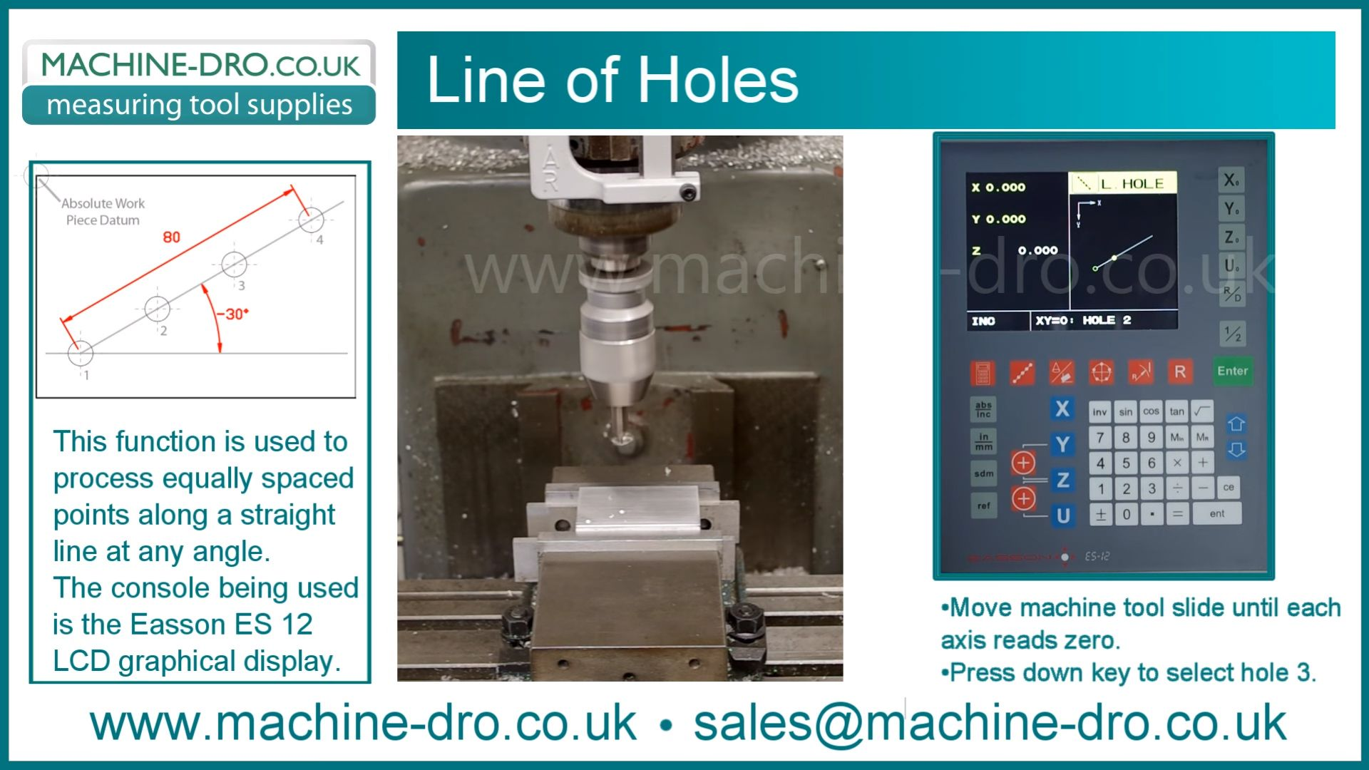 Line of Holes LCD