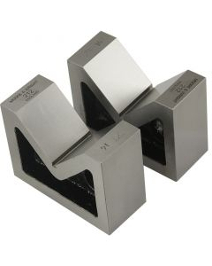 "Moore and Wright Standard Pair Vee Blocks 80mm/ 3.14"" - 200 Series"
